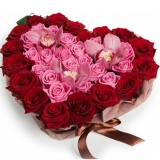 Заказать цветы для любимой девушки с доставкой!