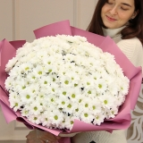 45 Белых хризантем