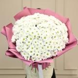 45 Білих хризантем