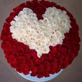 Королівський букет 101 троянда