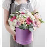 Квіти в шляпных коробках