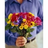 What flowers to give for men