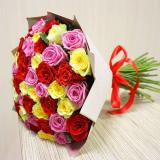 51 Multi-colored rose