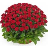 "Корзина ""101 красная роза"""