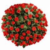 """Корзина """"101 роза Эль Торо"""""""