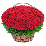 "Basket ""151 red roses"""