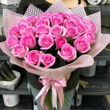 35 Pink roses