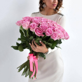 41 Розовая роза