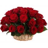 "Basket ""35 red roses"""