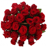 "Basket ""35 red roses"""