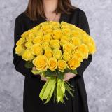 35 Жовтих троянд