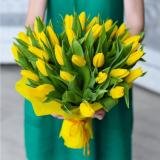 35 Жовтих тюльпанів