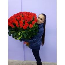 101 orange rose