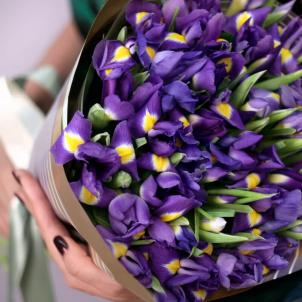 35 Irises