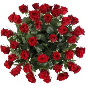 "Basket ""51 red roses"""