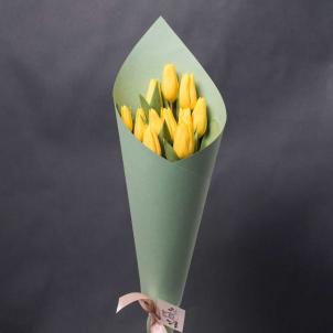 11 Жовтих тюльпанів