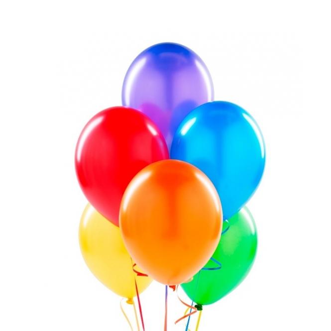 7 гелиевых шариков