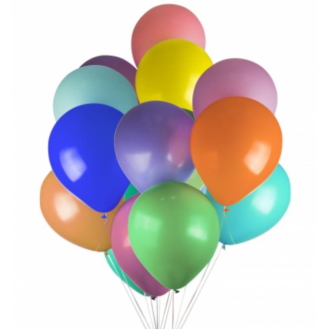19 гелиевых шариков