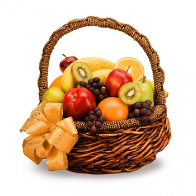 """Basket of fruit """"Summer mood"""""""