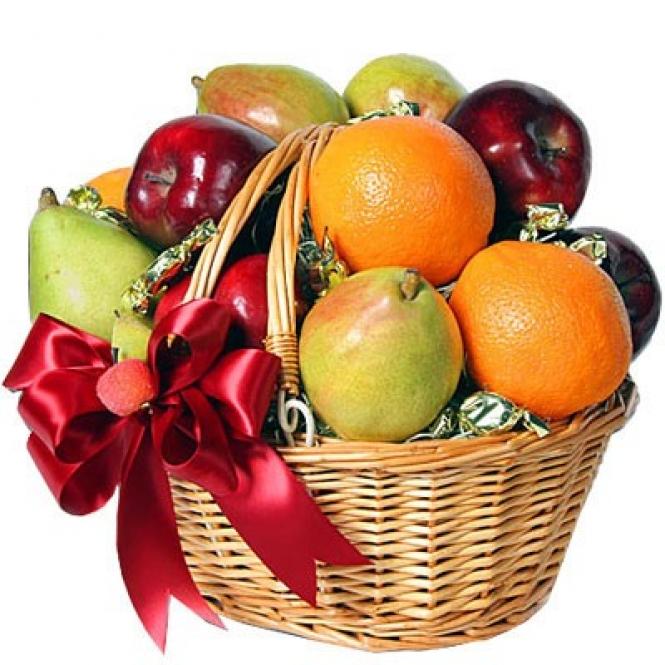 """Корзина фруктов """"Фруктовые сладости"""""""