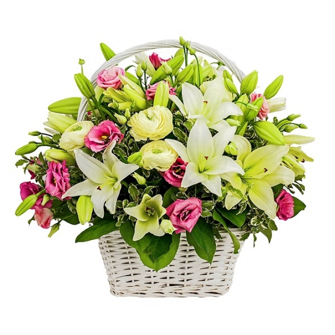 "Basket ""Heavenly delight"""