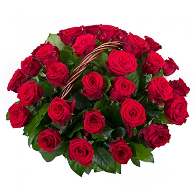 "Корзина ""31 червона троянда"""