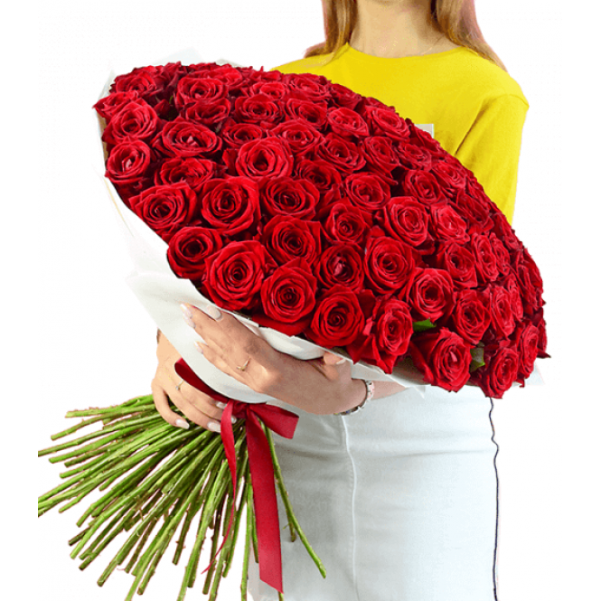 101 Red rose