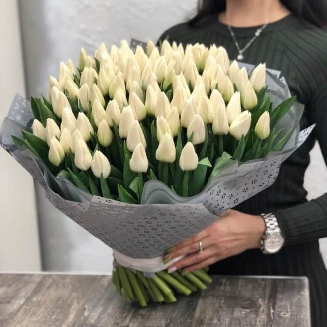 101 White Tulip