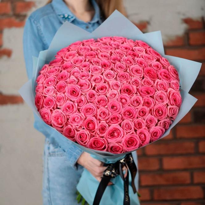 101 Рожева троянда