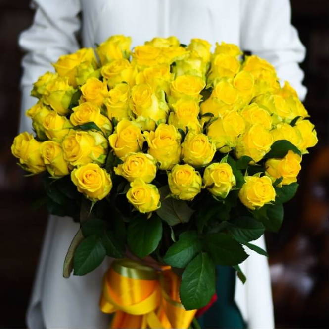 51 Жовта троянда