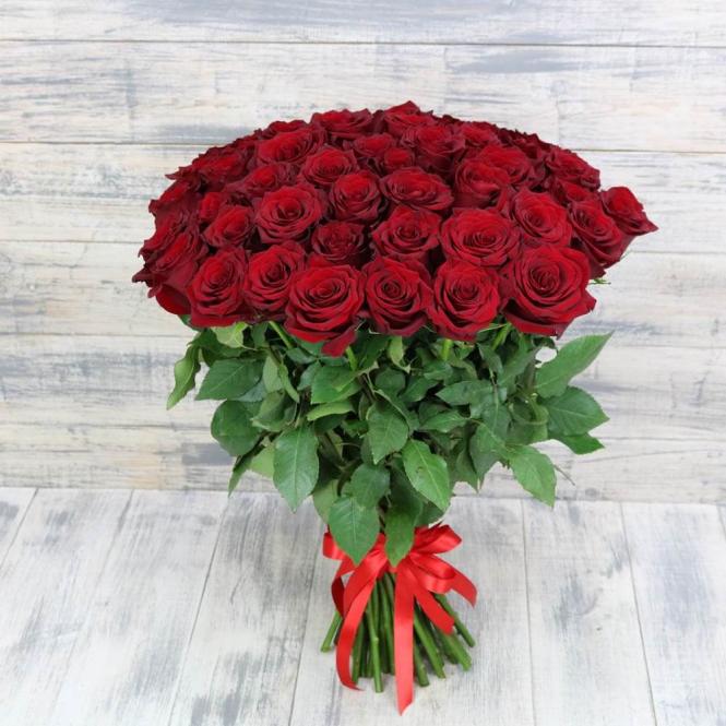 41 Красная роза