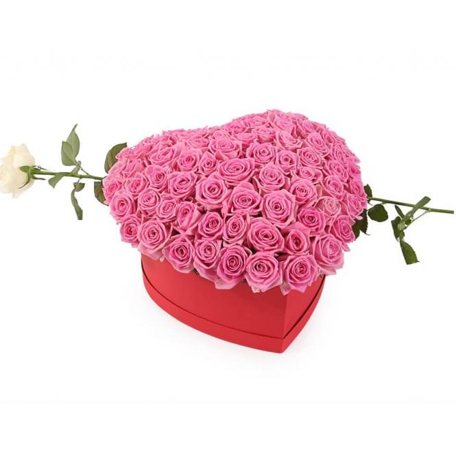 """Коробка """"Розовый флёр"""""""