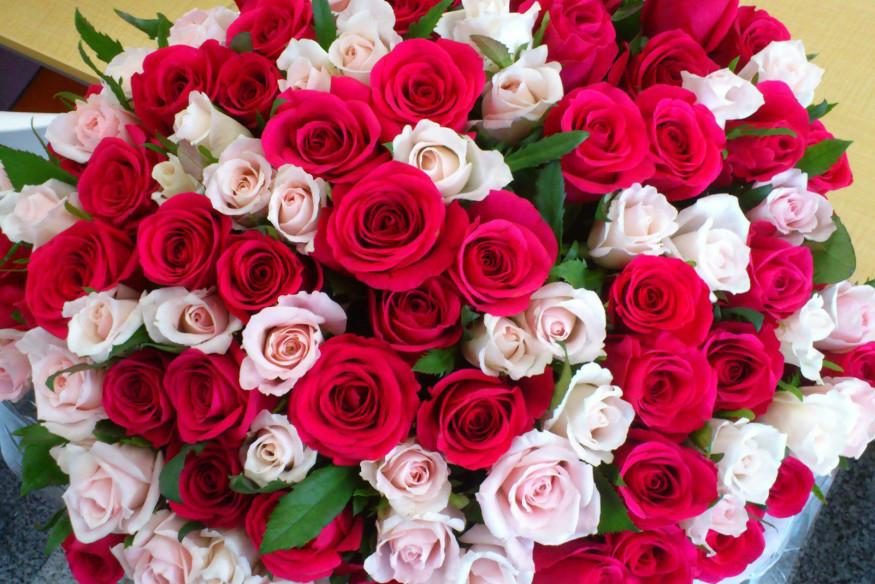 картинки букеты роз с днем рождения